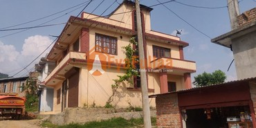 A commercial flat system house having land area 0-3-2-0 of 2 floors, in Kathmandu