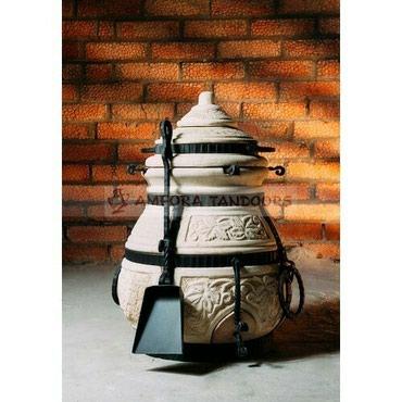 """Тандыр """"Кочевник""""Изготовлен из шамотной глины.Толщина стенки 5смВысота"""