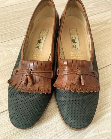 Продаю туфли (Германия) чёрные, размер 40 -1500 сом, комбинированные