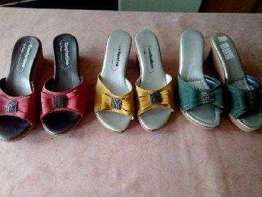 Ženska obuća | Priboj: Zenske papuce nove.Velicina 37 duzina 23 cm.Cena 700 po komadu tri