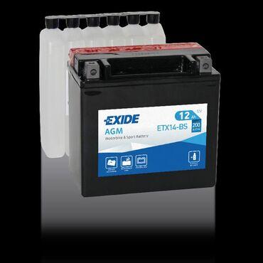 Аккумулятор Exide 12v 12Ah AGM Аккумуляторы EXIDE