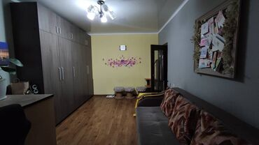 восток 5 квартиры in Кыргызстан   ПОСУТОЧНАЯ АРЕНДА КВАРТИР: 105 серия, 1 комната, 33 кв. м Теплый пол, Дизайнерский ремонт, Лифт