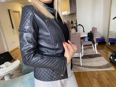 Only pantalone tj - Srbija: Ocuvana Mona kozna jakna, 40 velicina, tj. M, placena 28000dinara
