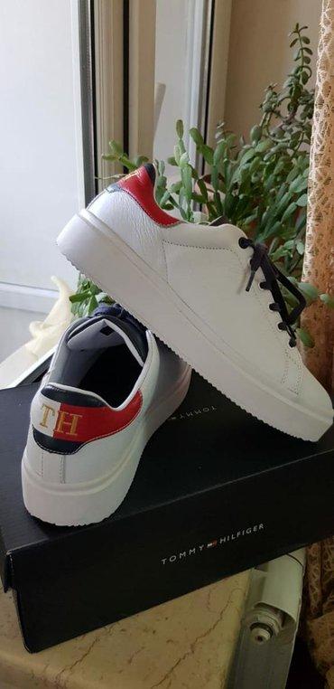 детская и подростковая обувь в Азербайджан: Tommy hilfiger brendinden sneakers. farfetch'den 190 $ dan 160 $