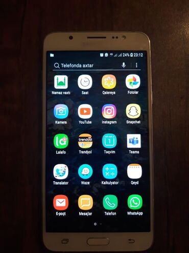 Samsung-j7-2016 - Азербайджан: Samsung Galaxy J7 2016 16 ГБ Белый