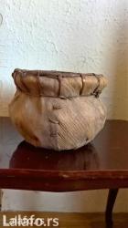 Dekorativna korpa od kokosove i palmine kore, pogodna za suvo i - Beograd