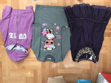Paket garderobe od 4/5 godLol svetleca haljinaMonsoon ljubičasto
