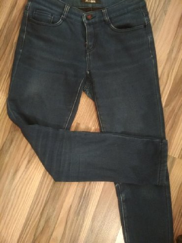 Джинсы - Кок-Ой: Утеплённые джинсы ~28р обмен