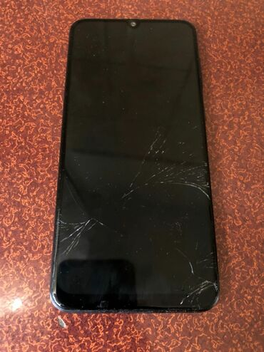 Samsung A50 | 128 ГБ | Синий | Б/у | Трещины, царапины, Сенсорный, Отпечаток пальца