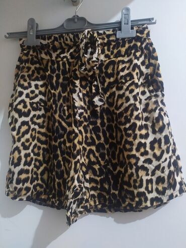 Animal print shorts Size: S Τιμή 5€ Αφορετο