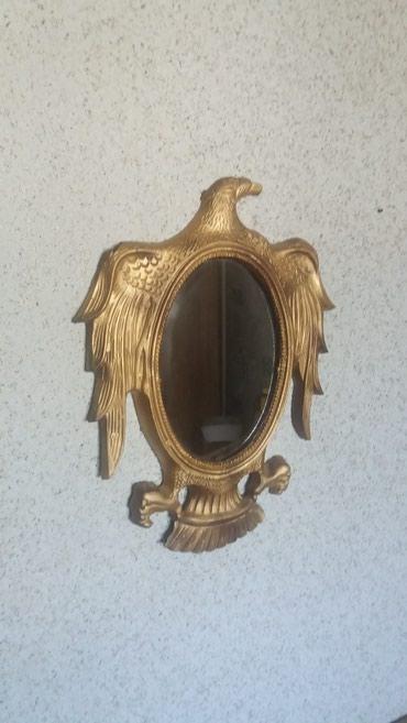 Зеркало. декор ванны, комнаты. размеры: 40 х 30 см. в Бишкек