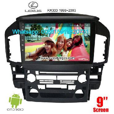 Lexus RX RX300 Car audio radio android GPS navigation camera Model