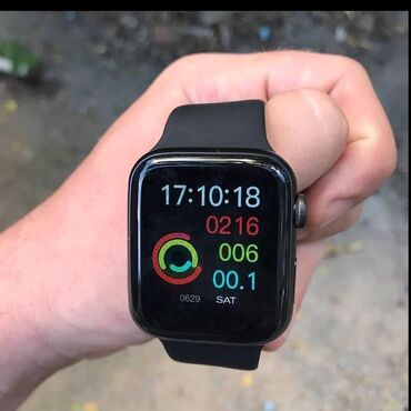 İWO 8:•APPLE Watch 4 series AAA+ oxsaridir•Addim Ölçmə•Ürək