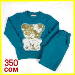 Спортивные костюмчики для девочек  На 3-4 года Цена: 350 сом в Бишкек