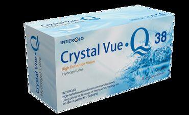 Interojo Crystal Vue Q38 – гидрогелевые контактные линзы, изготовлены