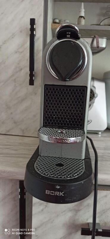 кофемашина скарлет в Кыргызстан: Капсульная кофемашина БОРК. В идеальном состоянии
