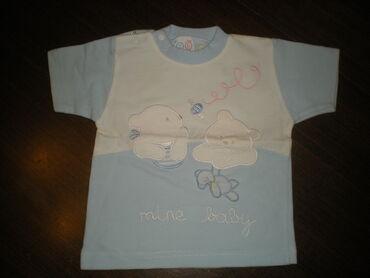 MAJICA BR.56  Letnja majica za dečkića, veličina 56. 100% pamuk. Dužin