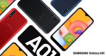 Samsung Galaxy A01 - 235 AZNXüsusiyyətləri• Məhsul tam Orijinaldır •