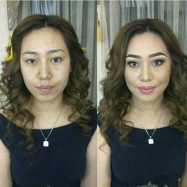 макияж+прическа 400сом в Бишкек