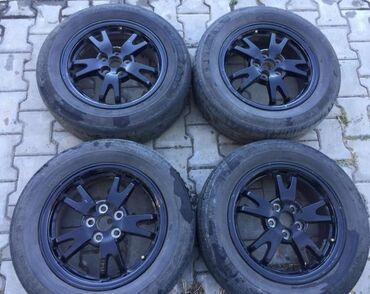 шины 195 65 r15 лето купить в Кыргызстан: Тойота приус 30 рестайл R15 (5*100)Диски ровные не вареные не