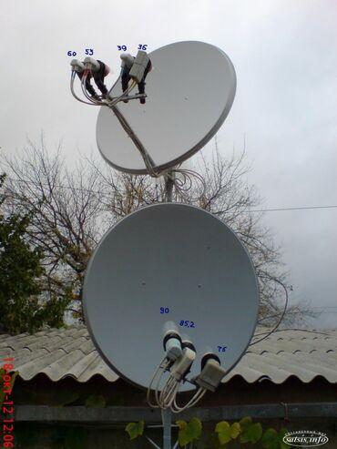 как установить санарип тв в Кыргызстан: Установка спутниковых антенн.нotbird.astra.azerspace.tursat.мтс