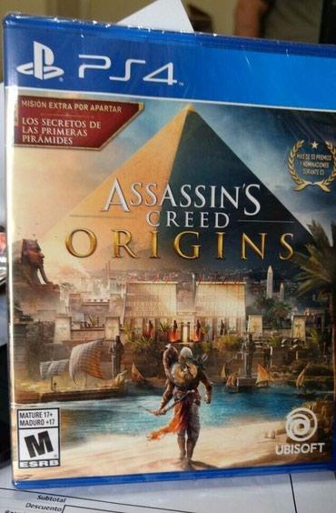 Bakı şəhərində Ps4 ucun Asassins Creed Origins oyunu tam bagli upokovkada orginal