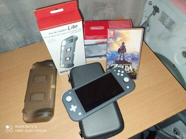 Nintendo switch lite 2020В комплекте:- zelda ;- Защитное стекло ;-