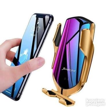 Eksterne baterije   Nis: PONOVO DOSTUPNO Bezicni punjac za telefon model R1 Wireless charger