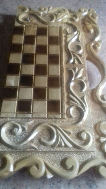 свадебный букет ручной работы в Кыргызстан: Нарды шахматы ручной работыотличный подарок для родных и