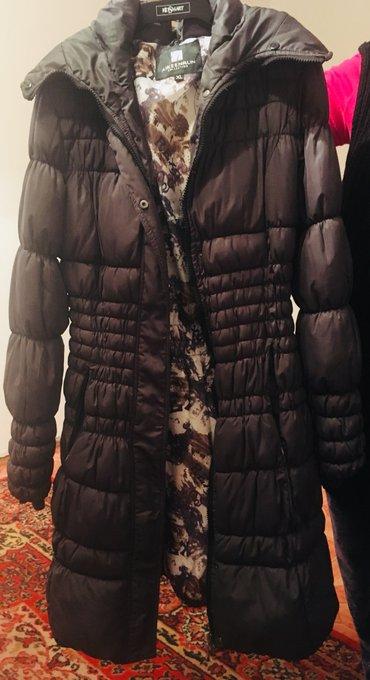 Женское пальто-куртка зимняя 44-46 в Бишкек