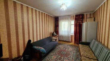 Продажа квартир - Бишкек: 105 серия, 1 комната, 35 кв. м Бронированные двери, С мебелью, Парковка