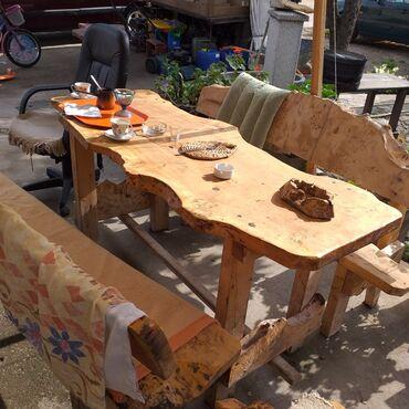 Ostalo za kuću   Loznica: Sto i stolice
