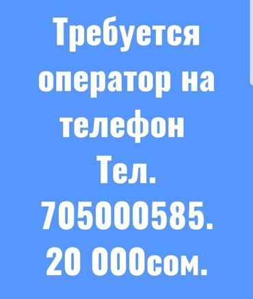 Требуется оператор на телефон. График работы с10:00-18:00