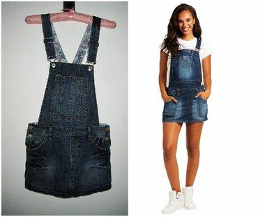 Denistar-farmrke - Srbija: *** DENISTAR *** texas suknja sa tregerima M - LTexas suknja sa