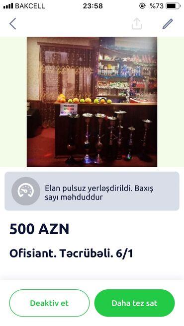 audi-a6-18-at - Azərbaycan: Qadin iwci teleb olunur 18-35 yas arasi tecrubeli olmagi daha onemli