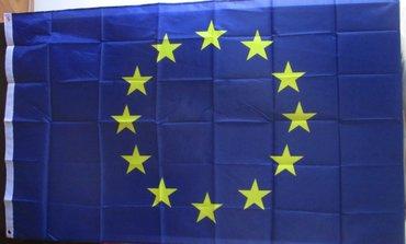 Zastava eu, nova, upakovana, dimenzija 150x90cm, veći model. Ima sa - Beograd