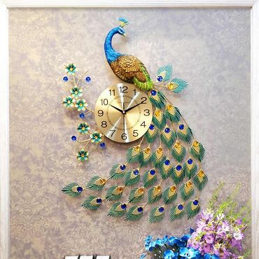 Флипчарты алюминиевая настенные - Кыргызстан: Павлин Большие настенные часы оригинал со склада в