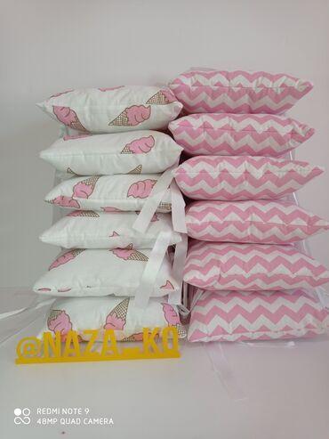 Бортики для детской кроватки на 4 стороны. Размер 30*30см 12шт. Ткань