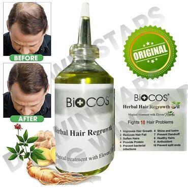 Biocos sac tokulmesine qarsi bitki terkibli organik yag ve serum