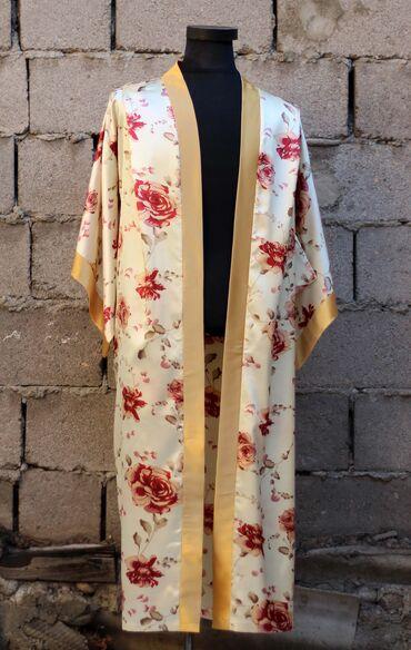 Шелковые халаты, ткань корея Размеры 48-50, 52-54