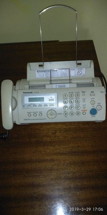 Телефон - Кыргызстан: Факс, телефон, автоответчик. Используется обычная бумага