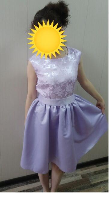 цвет нежный платье цвет в Кыргызстан: Продаётся новое платье сиреневого цвета нежного, размер 42, подростков