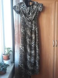 длинные платья из турции в Кыргызстан: Продаю платье длинное в пол, материал шифон, размер 40, фирма Yaren