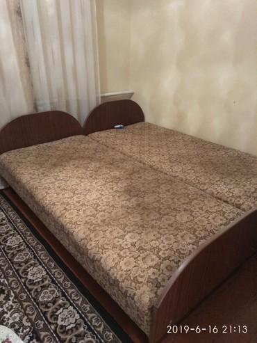 Продаю спальный кровать сост. хор. Цена 5000 сом в Нарын