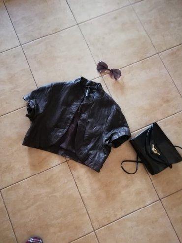 Kozna jakna, kratka, sexy Vel. 36.saljem post espresom - Jagodina - slika 4