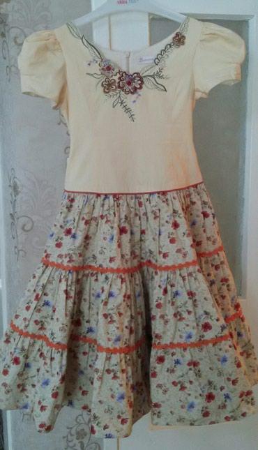 Прод красивое детское платье на 6-7 лет, в Бишкек