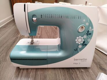 Электро швейная машинка - Кыргызстан: Продаю швейную машинку bernette milan 3 Швейцарский бренд, высококачес