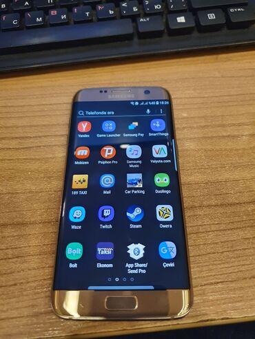 İşlənmiş Samsung Galaxy S7 Edge 4 GB qızılı