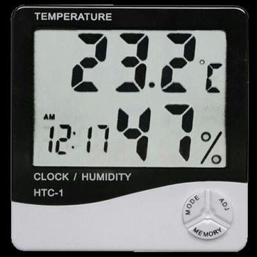 htc kaiser в Кыргызстан: Термометр-гигрометр HTC-1также в нашем магазине огромный выбор
