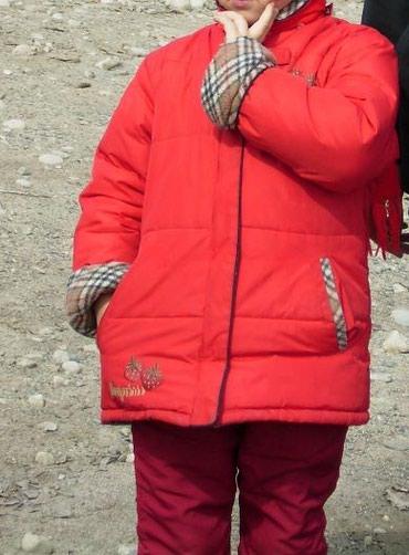 детская куртка зимняя в Кыргызстан: Продаю зимнюю куртку детскую (двухсторонняя)разм.: Дл. куртки - 55 см